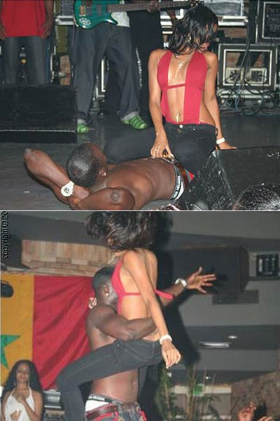 Akon Dry Humps Teen On Stage 101