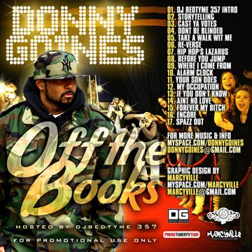 Donny Goines - Off The Books